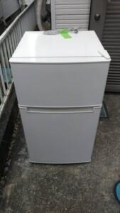 amadana(アマダナ)85L 2ドア冷蔵庫 AT-RF85B 2020年製