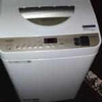 SHARP(シャープ)5.5㎏ 電気洗濯乾燥機 ES-T5DBK 2020年製