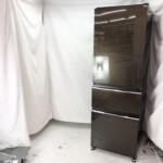 三菱 3ドア冷凍冷蔵庫 MR-CX37F-BR