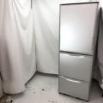 シャープ 3ドア冷凍冷蔵庫 SJ-WA35B-S