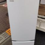 TOSHIBA(東芝)170L 2ドア冷凍冷蔵庫 GR-S17BS 2020年製